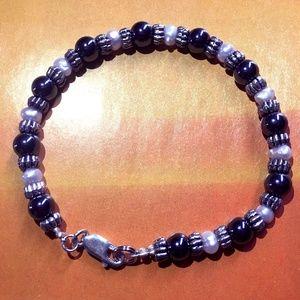 Hematite and Beads